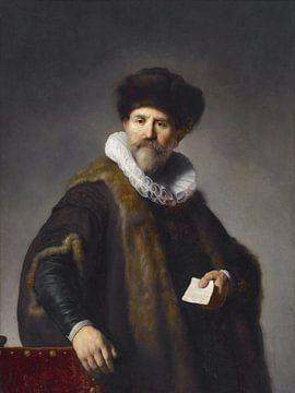 Portret van Nicolaes Ruts door Rembrandt sur