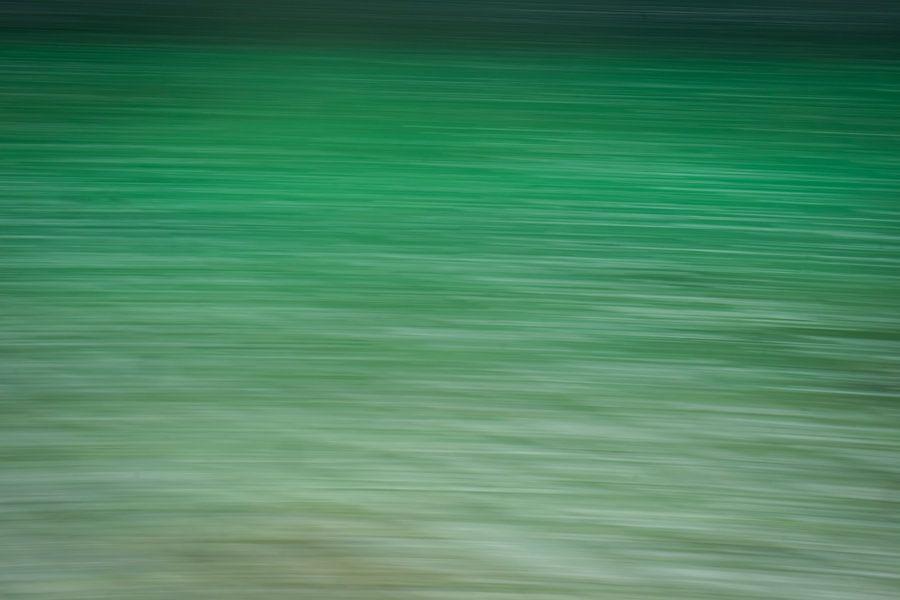 Groen of aqua ? van Karin Tebes
