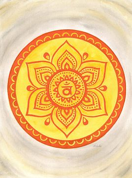 Sakralchakra Mandala Svadhisthana von Sandra Steinke