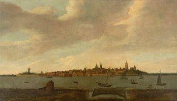 Ansicht von Heusden, Monogrammist FK (Noordelijke Nederlanden), 1625 - 1674