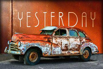 Vintage auto's | Gisteren van Dirk H. Wendt
