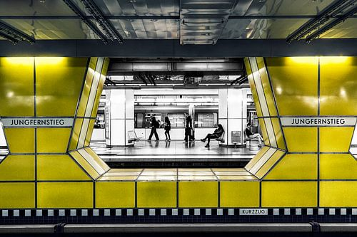 Hamburg Jungfernstieg