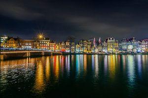 Amsterdam Amstel bij Nacht van