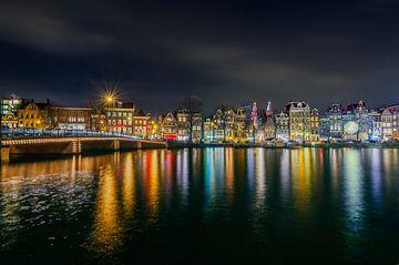 Amsterdam Amstel by Night von Ardi Mulder