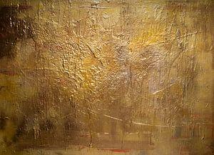 Gouden compositie van Sander Veen