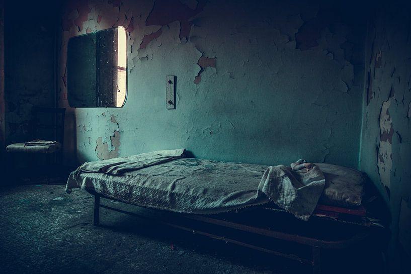 De blauwe slaapkamer van Tamara de Koning