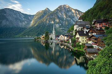 Hallstatt in Austria sur
