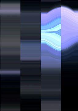 Blauw en Zwart von Freya Colman