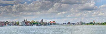 Blick auf Dordrecht von Jeroen van Alten