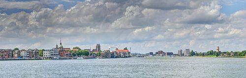 Zicht op Dordrecht van