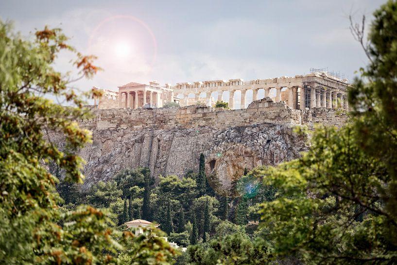 Acropole d'Athènes sur Miranda van Hulst