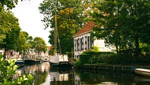 Het Friese dorpje Aldeboarn in Nederland van Visiting The Dutch Countryside