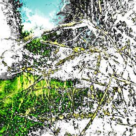 Gestörte Landschaft #013 von Peter Baak