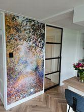 Klantfoto: August Renoir. In het bos, als naadloos behang