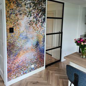 Kundenfoto: Im Wald – August Renoir, auf nahtloser fototapete