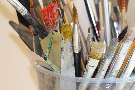 Malerei Werkzeug van Rosi Lorz