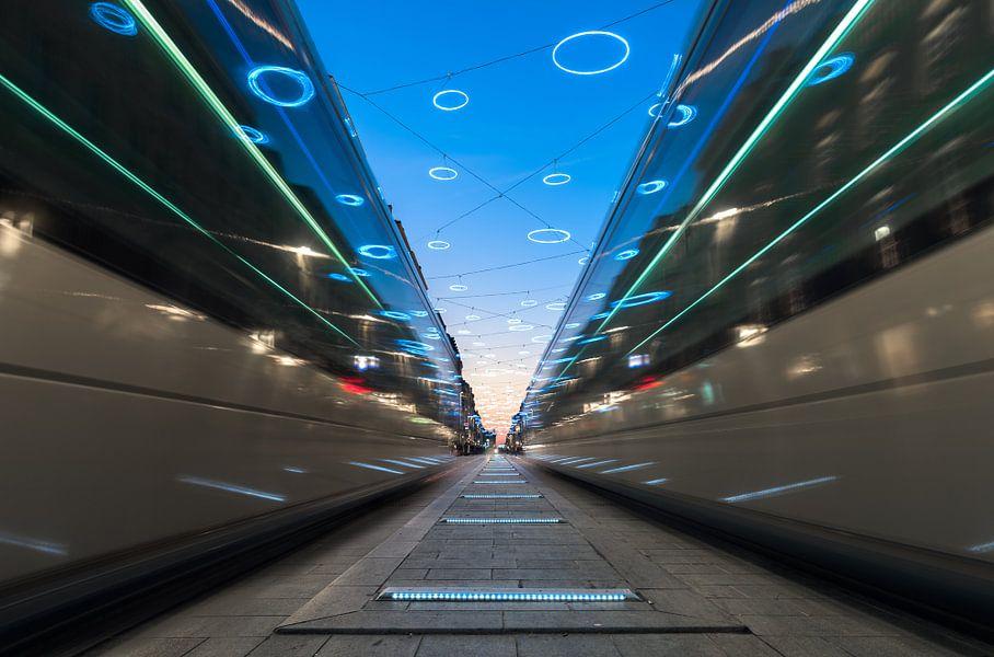 Tramways Cours de l'Intendance