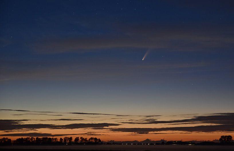 Komeet Neowise van Piet Kooistra