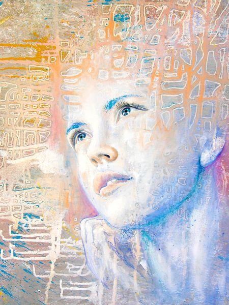 Dromer   portret van een dagdromer  van Anouk Maria van Deursen