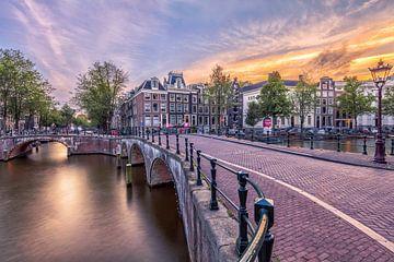 Amsterdam Keizersgracht von Dennisart Fotografie
