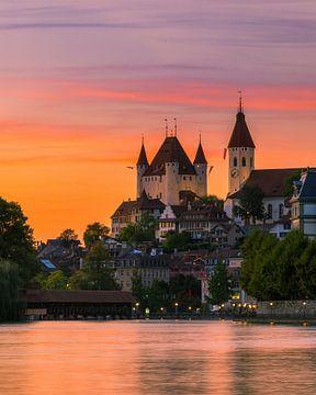 Kasteel van Thun, Zwitserland van Henk Meijer Photography