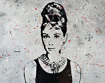 Audrey Hepburn von TRICHOPOULOS