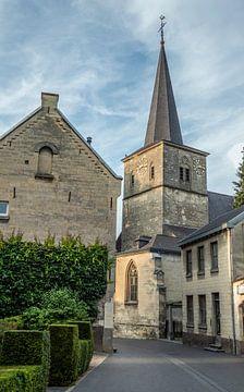 St Nicolaaskerk Kerkstraat Valkenburg Zuidlimburg Nederland van Evelien Heuts-Flachs