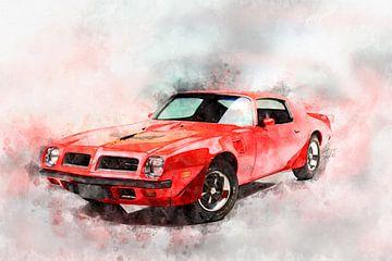 1974 Pontiac Firebird Trans Am von Theodor Decker