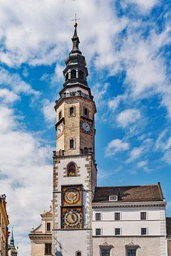 Het oude stadhuis Görlitz, Duitsland van Gunter Kirsch