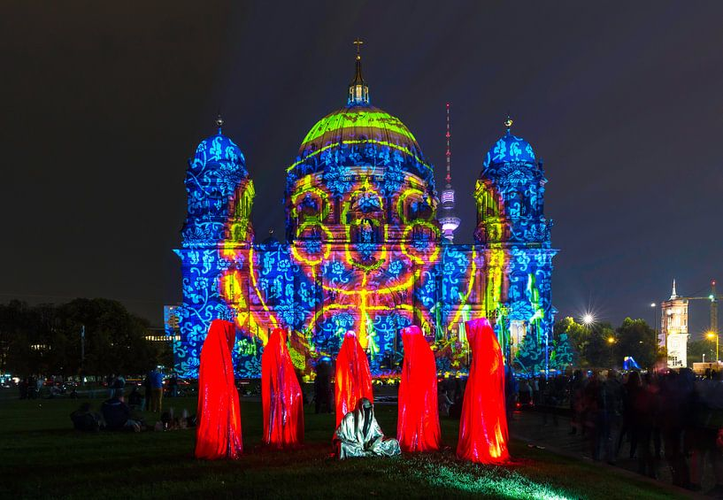 De Berlijnse Dom in een bijzonder licht van Frank Herrmann