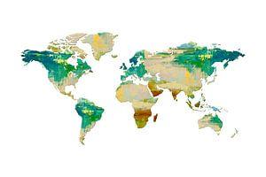 Artistic World Map I