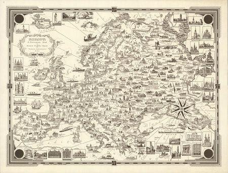 Europa: Eine Bildkarte