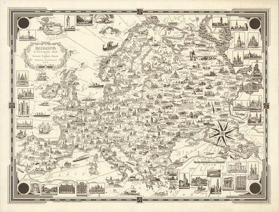 Europa: een picturale kaart
