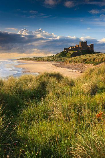 Bamburgh Castle van Henk Meijer Photography