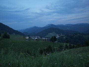 Sloveens bergdorp sur Rinke Velds