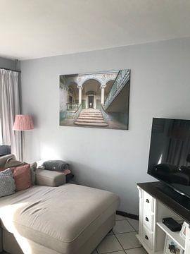 Klantfoto: De vervallen ingang van Beelitz (gezien bij vtwonen) van Truus Nijland