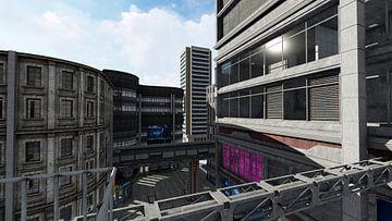city futur 9 van H.m. Soetens