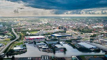Südost-Groningen aus der Luft von Iconisch Groningen