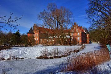 Sneeuw kasteel landschap van Edgar Schermaul