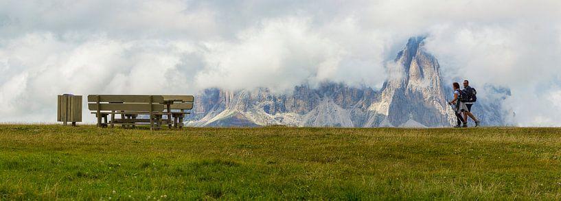 Mountains part II van Ben van Sambeek