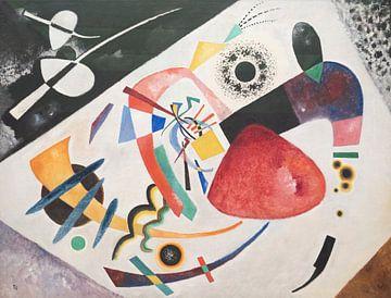 Tache rouge II, Wassily Kandinsky sur