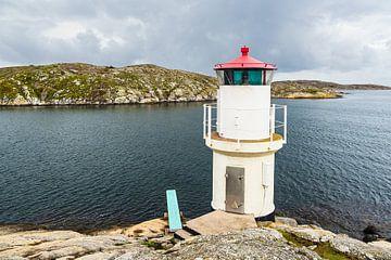 Leuchtturm in Mollösund in Schweden von Rico Ködder