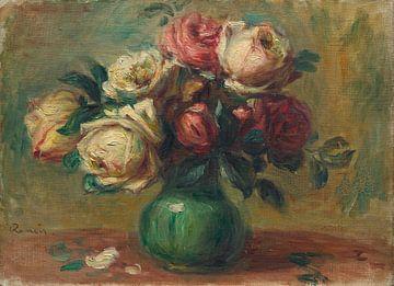 Rosen in einer Vase, Pierre-Auguste Renoir