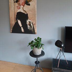 Photo de nos clients: Lady Eleanore sur Marja van den Hurk, sur toile