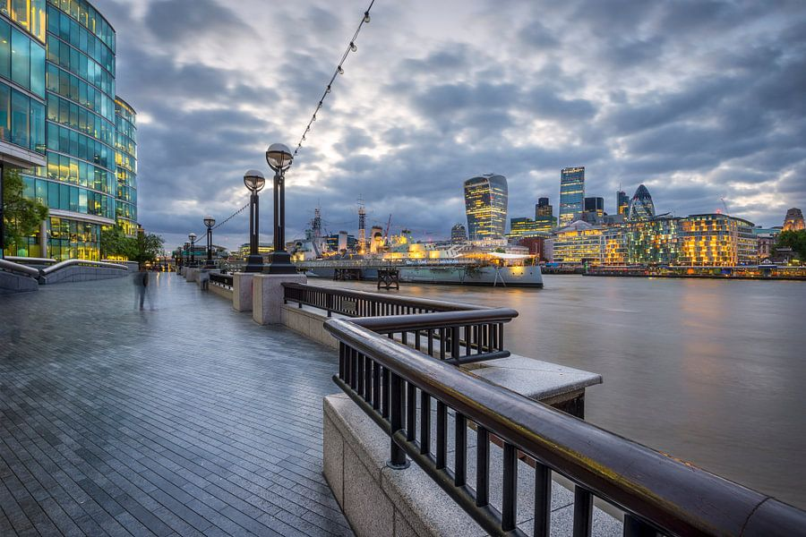 Londen van Frederik van der Veer