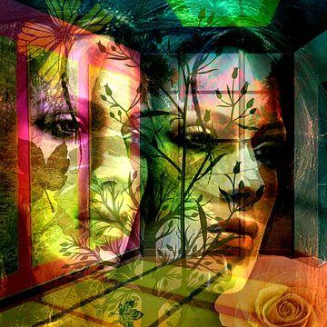 Die Frau am Fenster von Gertrud Scheffler