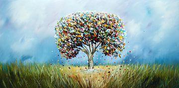 L'arbre fantastique sur Gena Theheartofart