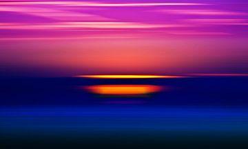 Sonnenuntergang 1 van Bianka Hesse