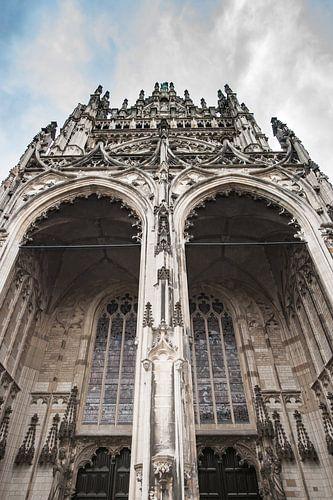 Kathedraal in de stad Den Bosch