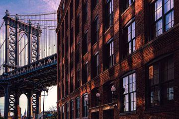 New York  DUMBO mit Manhattan Bridge von Kurt Krause